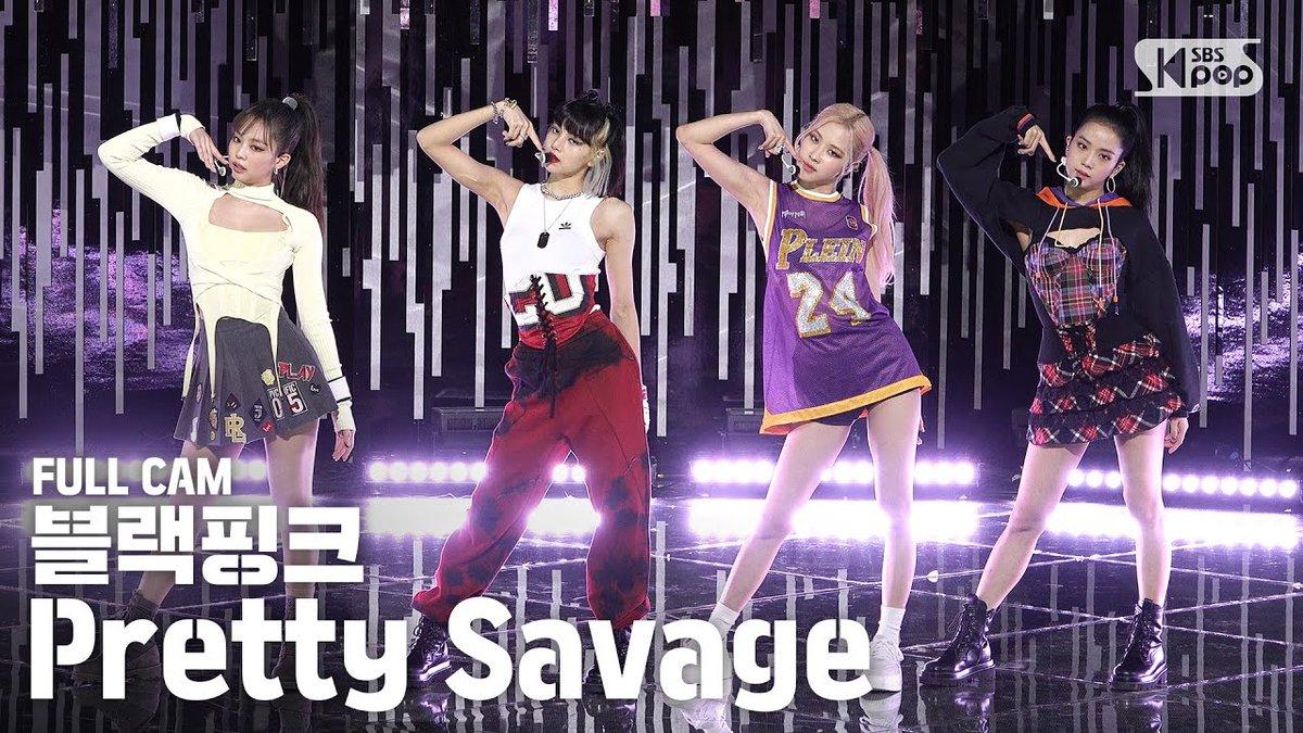 Video sân khấu âm nhạc của BLACKPINK Pretty Savage đã vượt hơn 100 triệu lượt xem trên YouTube