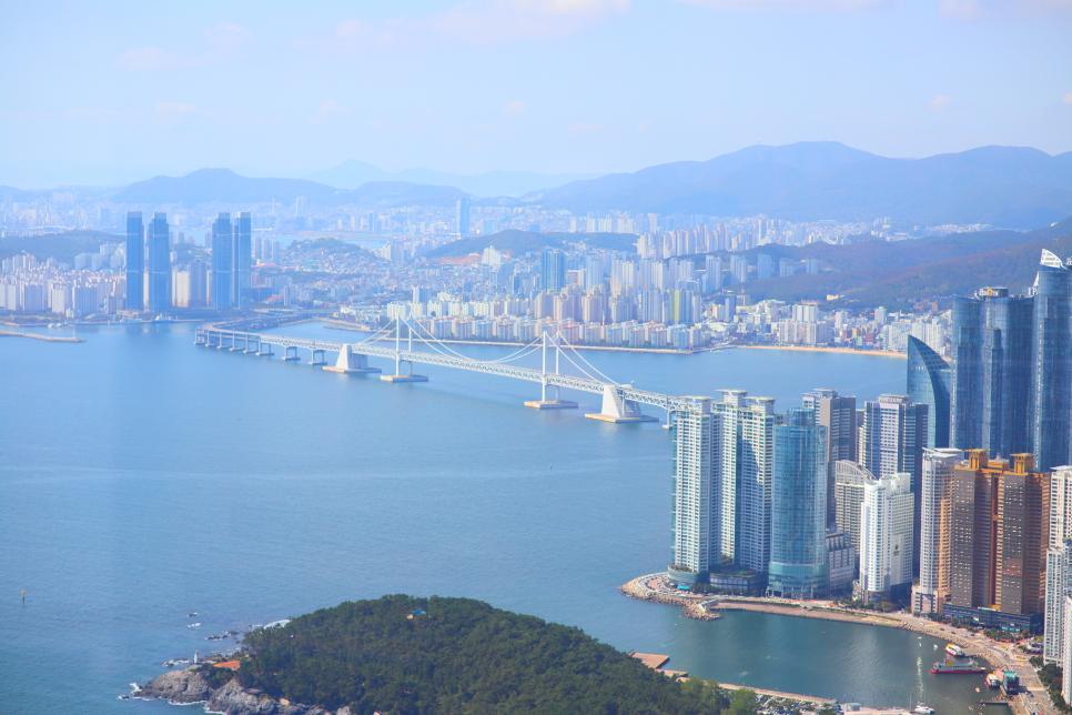 Busan X the Sky là một đài quan sát cho thấy phong cảnh đẹp nhất của Busan