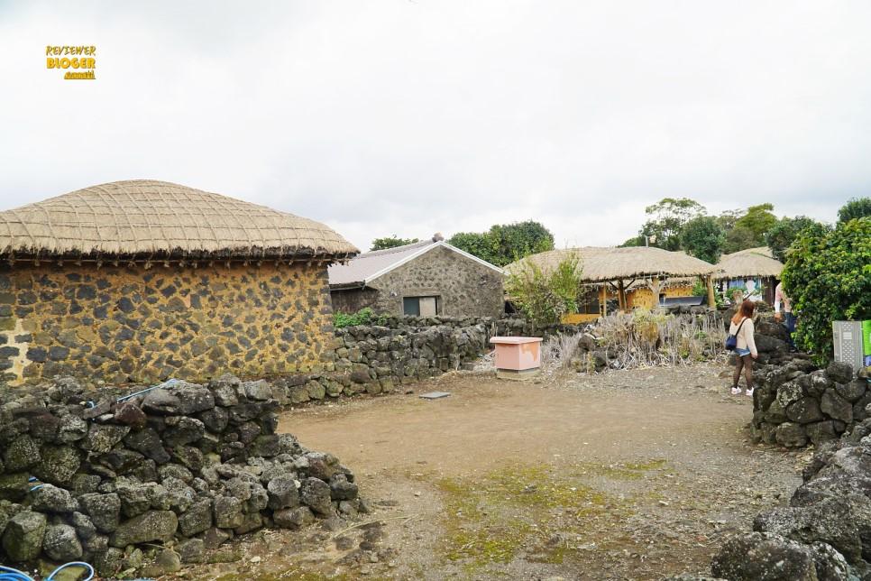 Làng dân gian Seongeup là một nơi rất đáng ghé thăm khi đến Jeju