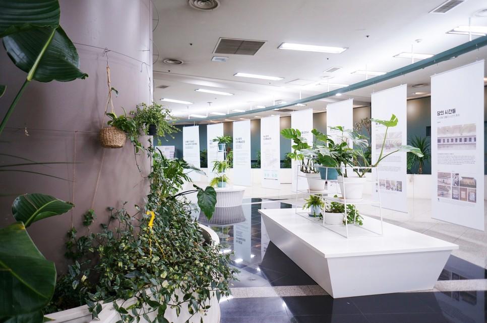 Chủ đề chính của ga Noksapyeong là Vườn Bách thảo và Bảo tàng Nghệ thuật