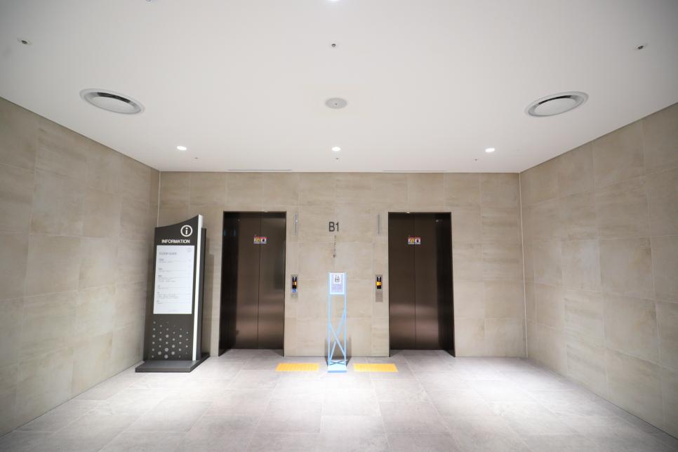 Tầng hầm của tòa nhà Busan X the sky