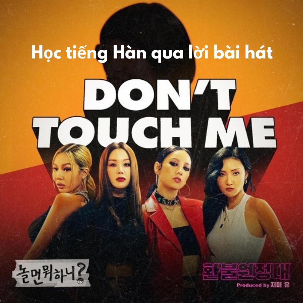 Học tiếng Hàn qua lời bài hát Don