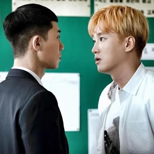 Hội thoại giữa Park Se-royi và bố ở nhà hàng trong tập 1 Itaewon Class (1)