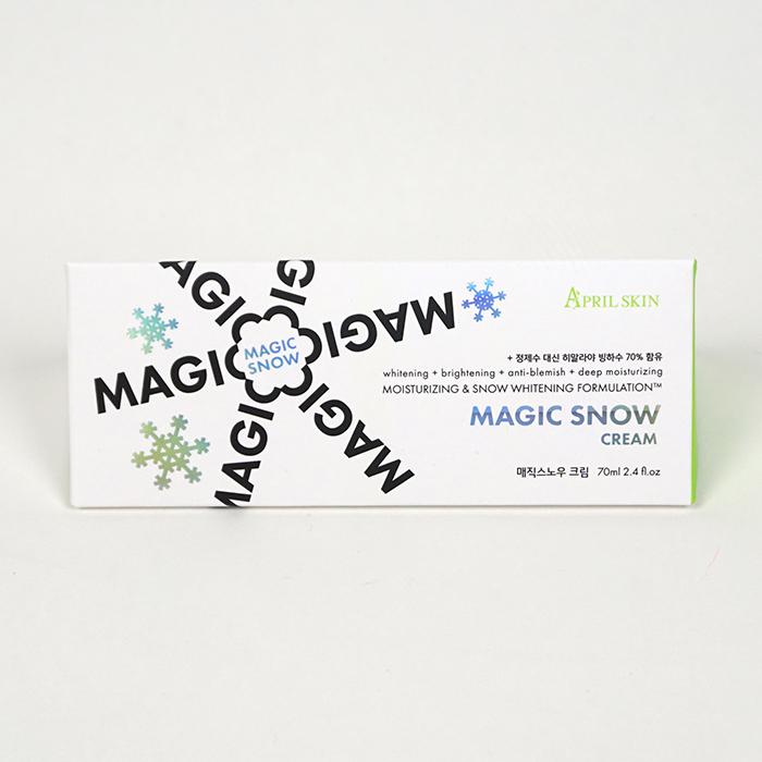 Kem dưỡng trắng da April Skin Magic Snow Cream