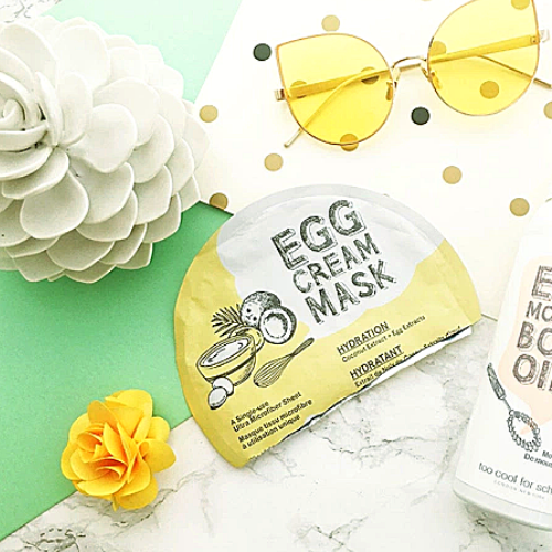 Mặt nạ trứng Too cool for school Egg Cream Mask
